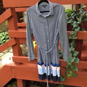 Tommy Hilfiger midi shirt dress, size XL